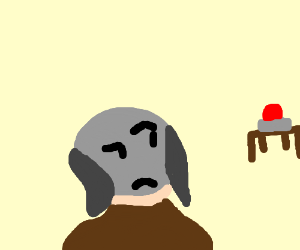 Gray Fox (Oblivion) questions red button