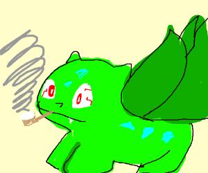Bulbasaur took that meth