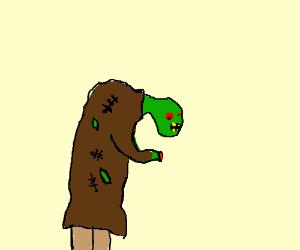 Hunchbacked Zombie