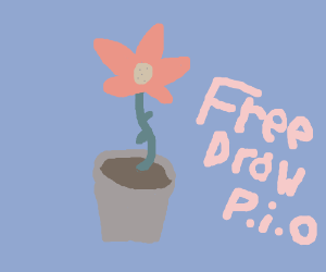 I am on a break from drawing sooo... Freedraw?