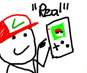 a real poké gamer