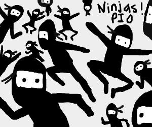 Ninjas! PIO