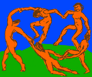 Matisse, The Dance