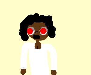 Red Eyes Brown Woman