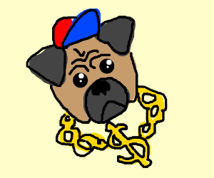 The Pug Life Chose Me Drawception