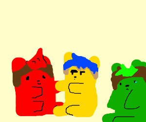 If Youtubers were gummy bears....