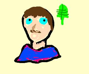 LeafyisHere with a chin - Drawception