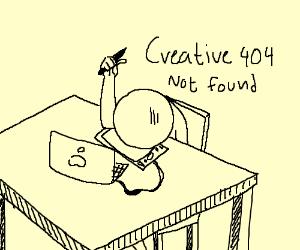 creative 404 Not Found