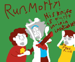 Rick and Morty vs Steven Universe