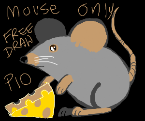 Mouse-only free draw PIO!