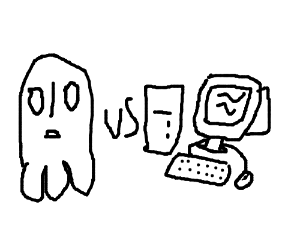 Ghost vs Old Computer