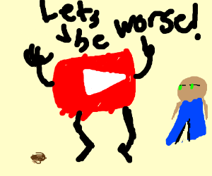 Youtube in a nutshell (not literally)