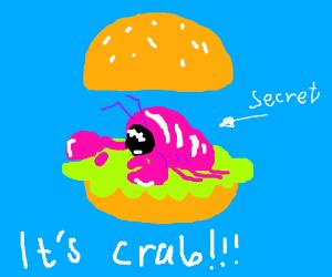The krabby patty's secret formula