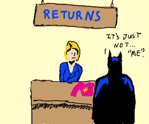 The Dark Knight Returns a Sweater at Macy's