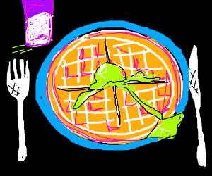 Neon Waffle
