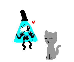 blue bill cipher and -w- cat