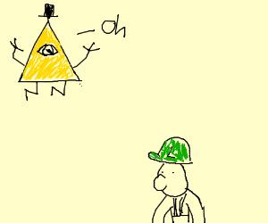 Bill Cipher discovers Luigi