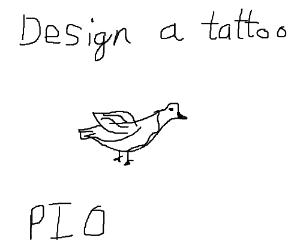 Design a tattoo P.I.O.