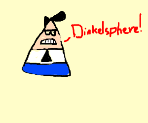 "Triangle Timmy's dad says ""Dinklesphere..."""