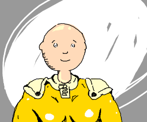 And so, One Punch Caillou was created