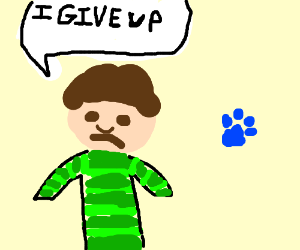 Steve from Blues Clues gives up
