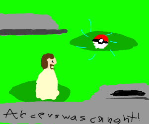 Jesus catches Arceus