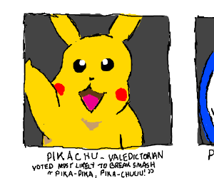 Pikachu's Yearbook Quote