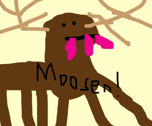 What S The Plural For Moose Moosen Drawception