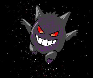 Gengar in space