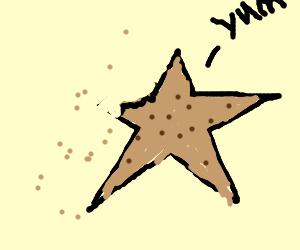 Pentagraham crackers