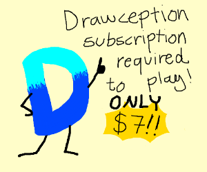 Drawception now requires $7 subscription fee