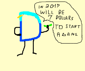 2017 game costs 7 dollars to start!