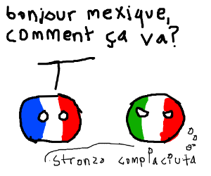 France and Italy have a conversation