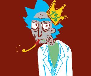 a horrifyicly old man