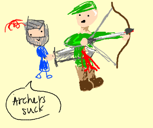 Why archers suck