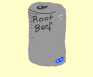 Can of Root Beef