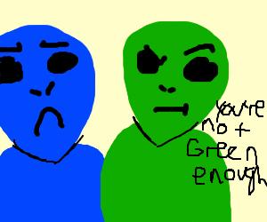 bullying equivalent for aliens