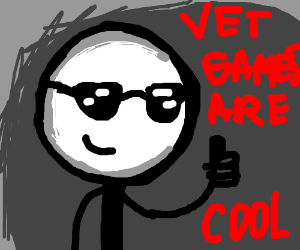 Vet games are cool