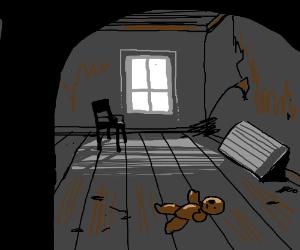 A creepy room