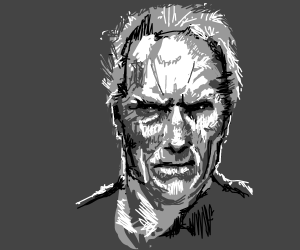 Old, grumpy man