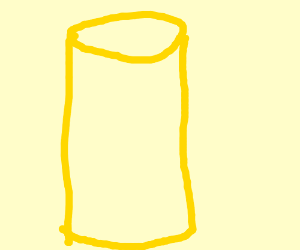 yellow cylinder