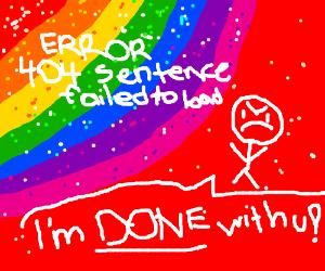 Error 404 Sentence fail to load