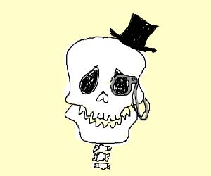 Dapper Skeleton