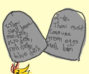 Dr Seuss' Ten Commandments