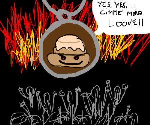 Cinnamon roll pendant needs more love