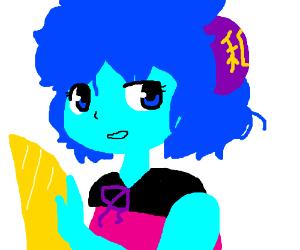 Lapis as an Anime Girl?