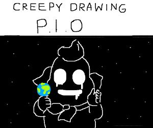 Creepy drawing P.i>o