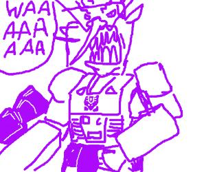 waluigi-tron transformer