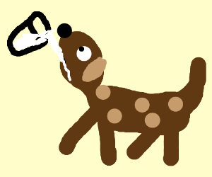 an animal powered by milk