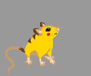 Pikachu the literal mouse pokemon